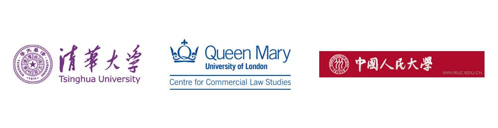 Logos for CCLS, Renmin University and Tsinghua University
